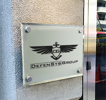 Defensys Group Door Sign small